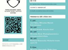 Program na září a říjen 2018