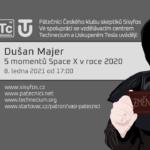 Dušan Majer: 5 momentů Space X v roce 2020, 8. ledna 2021