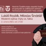 Lukáš Roubík, Miloslav Šindelář: Moderní výživa - mýty vs. fakta, 2. února 2021