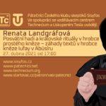 Renata Landgráfová: Záhady textů v hrobce kněze lufay v Abúsíru, 27. dubna 2021